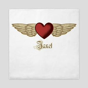 Janet the Angel Queen Duvet