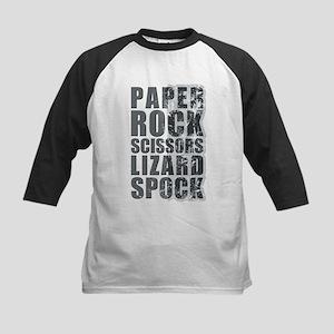 paper rock scissors lizard spock Baseball Jersey