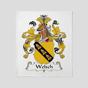 Welsch Throw Blanket