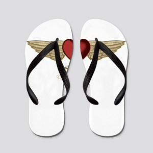 Joanne the Angel Flip Flops