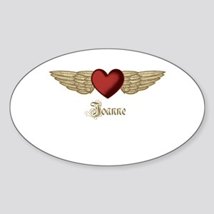 Joanne the Angel Sticker