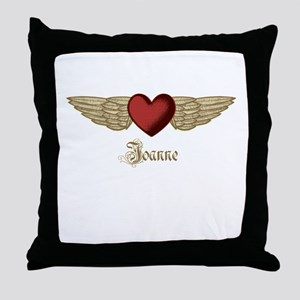 Joanne the Angel Throw Pillow