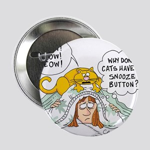 "Cat Snooze Alarm 2.25"" Button"