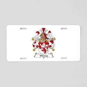Weiss Aluminum License Plate
