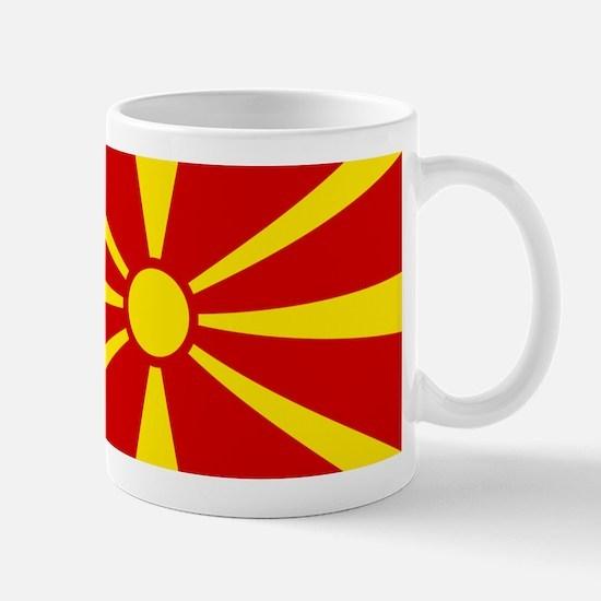 Flag of Macedonian Mug