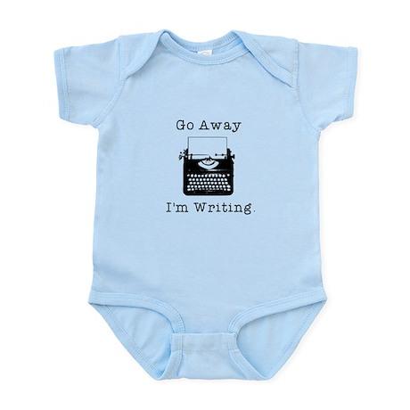 GO AWAY - Writing Infant Bodysuit