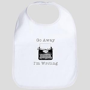 GO AWAY - Writing Bib