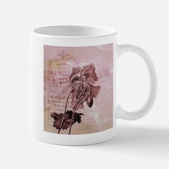 French Pink Poppy Mug