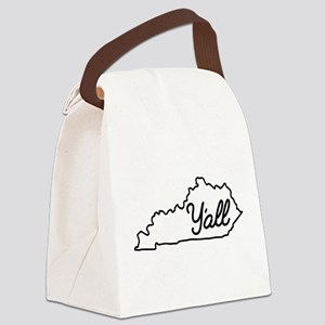 Kentucky Y'all Canvas Lunch Bag