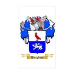 Bariglione Sticker (Rectangle 50 pk)