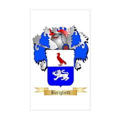 Bariglietti Sticker (Rectangle)