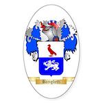 Bariglietti Sticker (Oval 50 pk)