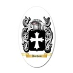 Barham 20x12 Oval Wall Decal