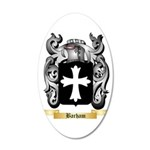 Barham 35x21 Oval Wall Decal
