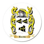 Baretto Round Car Magnet