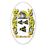Baretto Sticker (Oval 50 pk)