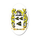 Baretto 35x21 Oval Wall Decal