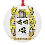 Barettino Round Ornament