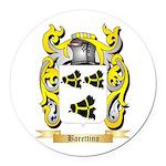 Barettino Round Car Magnet