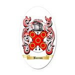 Bareon Oval Car Magnet