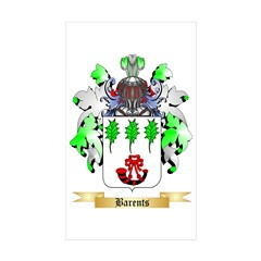 Barents Sticker (Rectangle 50 pk)