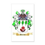 Barens 20x12 Wall Decal