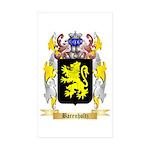 Barenholtz Sticker (Rectangle 10 pk)