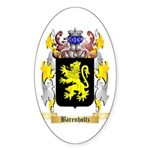 Barenholtz Sticker (Oval 50 pk)