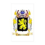 Barenbaum Sticker (Rectangle 50 pk)