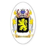 Barenbaum Sticker (Oval 50 pk)