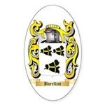 Barellini Sticker (Oval)