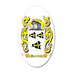 Barellini 35x21 Oval Wall Decal