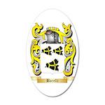 Barelli 35x21 Oval Wall Decal