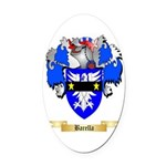 Barella Oval Car Magnet