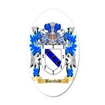 Barefield Oval Car Magnet