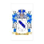 Barefield Sticker (Rectangle 50 pk)