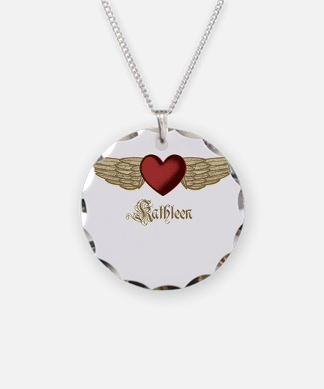 Kathleen the Angel Necklace