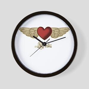 Krista the Angel Wall Clock