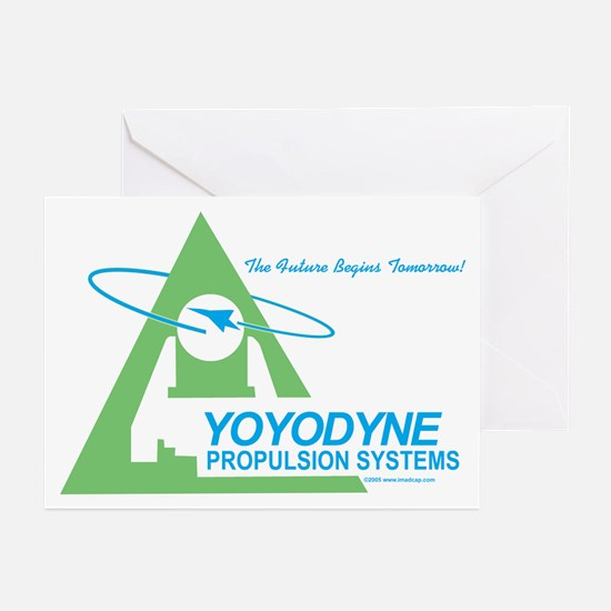 Yoyodyne Propulsion Systems Greeting Cards (Packag