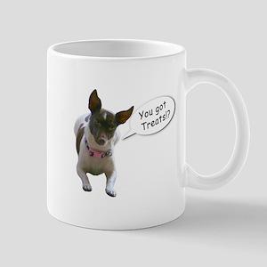 Curious Dog Mug