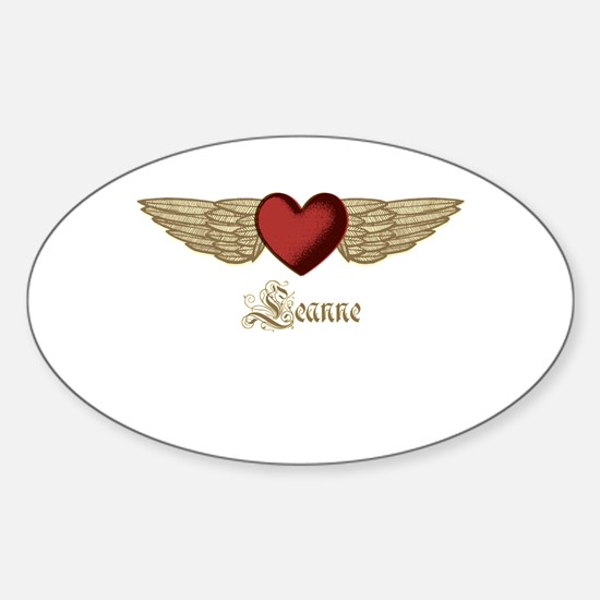 Leanne the Angel Decal