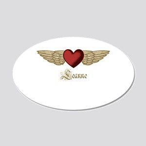 Leanne the Angel Wall Decal