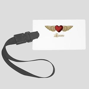 Leanne the Angel Luggage Tag