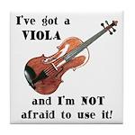 I've Got a Viola Tile Coaster