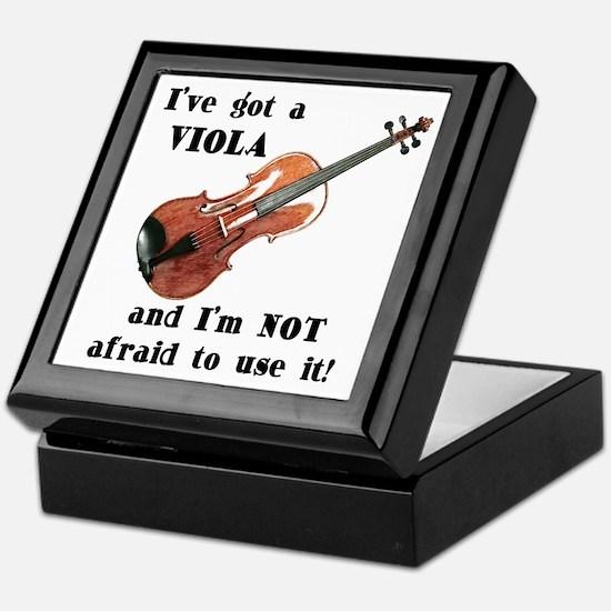 I've Got a Viola Keepsake Box