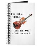 I've Got a Viola Journal