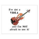 I've Got a Viola Small Poster