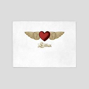 Lillian the Angel 5'x7'Area Rug