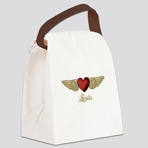 Linda the Angel Canvas Lunch Bag