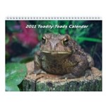Toadily Toads 2011 Wall Calendar